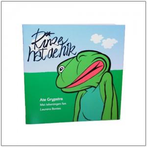 boek Laurens Bontes met illustratie