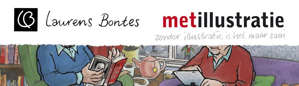 Laurens Bontes met illustratie
